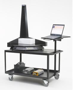 система для измерения габаритов коробки