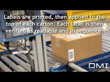 In-Motion Shipping and Manifest, Print/Apply, Checkweigher Cuber, Material Handling, QMI Services