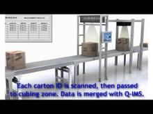 In Motion Scanning and Cubing System Demo, Omni-Directional Scanners and Dimensioning (877) QMI-1955