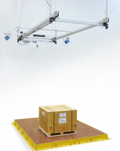 Паллетная система измерения габаритов