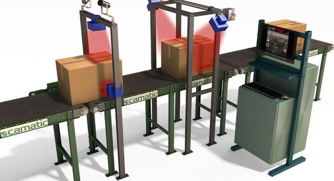 VMS cистема определения весо-габаритных характеристик грузов